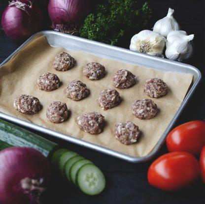 Mediterranean Duck Meatballs